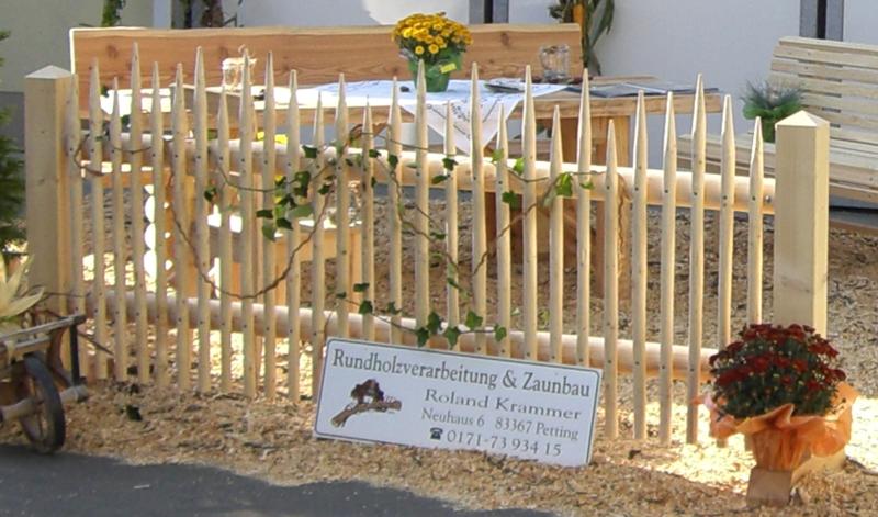Holzzune Rundholzprodukte Holz Im Garten Roland Krammer